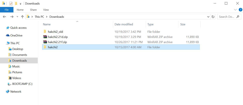 download latest version of hakchi