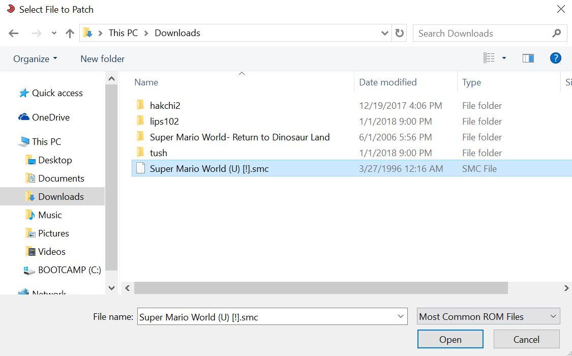 How-to Patch ROMs for SNES Classic Mini | SNES Classic Mini Mods & Hacks